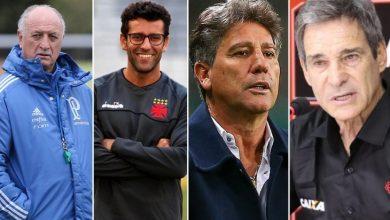 92eb74e77c Mercado da bola  saiba quem será o técnico do seu time em 2019